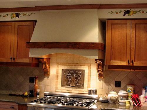 Портал для вытяжки на кухню своими руками